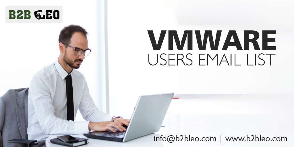 VMware Users Email List | VMware Users Mailing Database