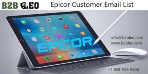 Epicor Customer Email List
