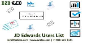 JD Edwards Users Email Lists
