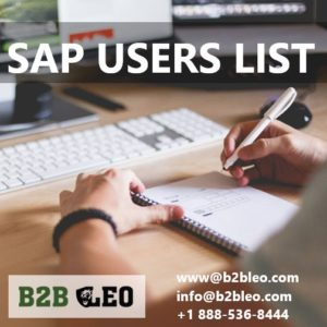 SAP Users List-B2B Leo
