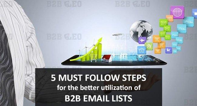 B2B Email Lists | B2B Mailing Lists