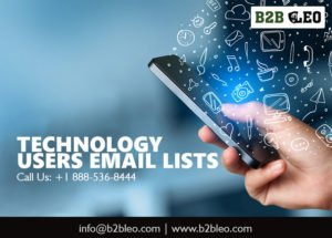 Technology-Users-Email-Lists